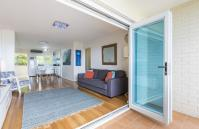 Cottesloe Sakura Blue Apartment - Open Pan Living Area - holiday accommodation rentals for short term stays in Perth