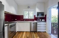 Cottesloe Beach Deluxe Apartment - Kitchen - holiday accommodation rentals for short term stays in Perth