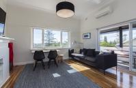 Cottesloe Beach Deluxe Apartment - Lounge Room - holiday accommodation rentals for short term stays in Perth