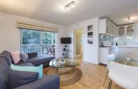 Cottesloe Waters Apartment 5 - Living Area/Balcony - holiday accommodation rentals for short term stays in Perth