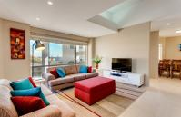 Cottesloe Contemporary Villa - Living Area - holiday accommodation rentals for short  term stays in Perth