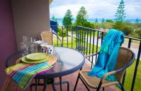 Cottesloe Sea Bliss Apartment  - Balcony - holiday accommodation rentals for short term stays in Perth
