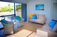 Cottesloe Marine Apartment - Living Area/Balcony - holiday accommodation rentals for short term stays in Perth