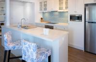 Cottesloe Blue Apartment - Kitchen - holiday accommodation rentals for short term stays in Perth